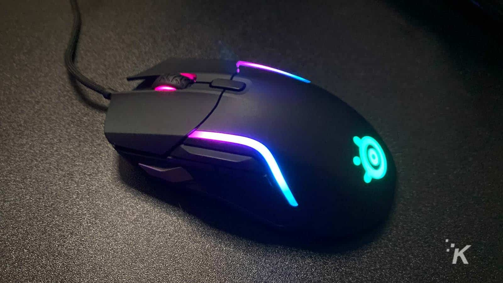 steelseries rival 5 gaming mouse