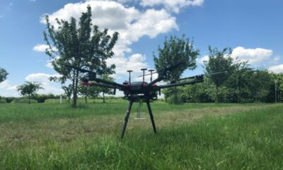 drone fitted with scream-finding equipment