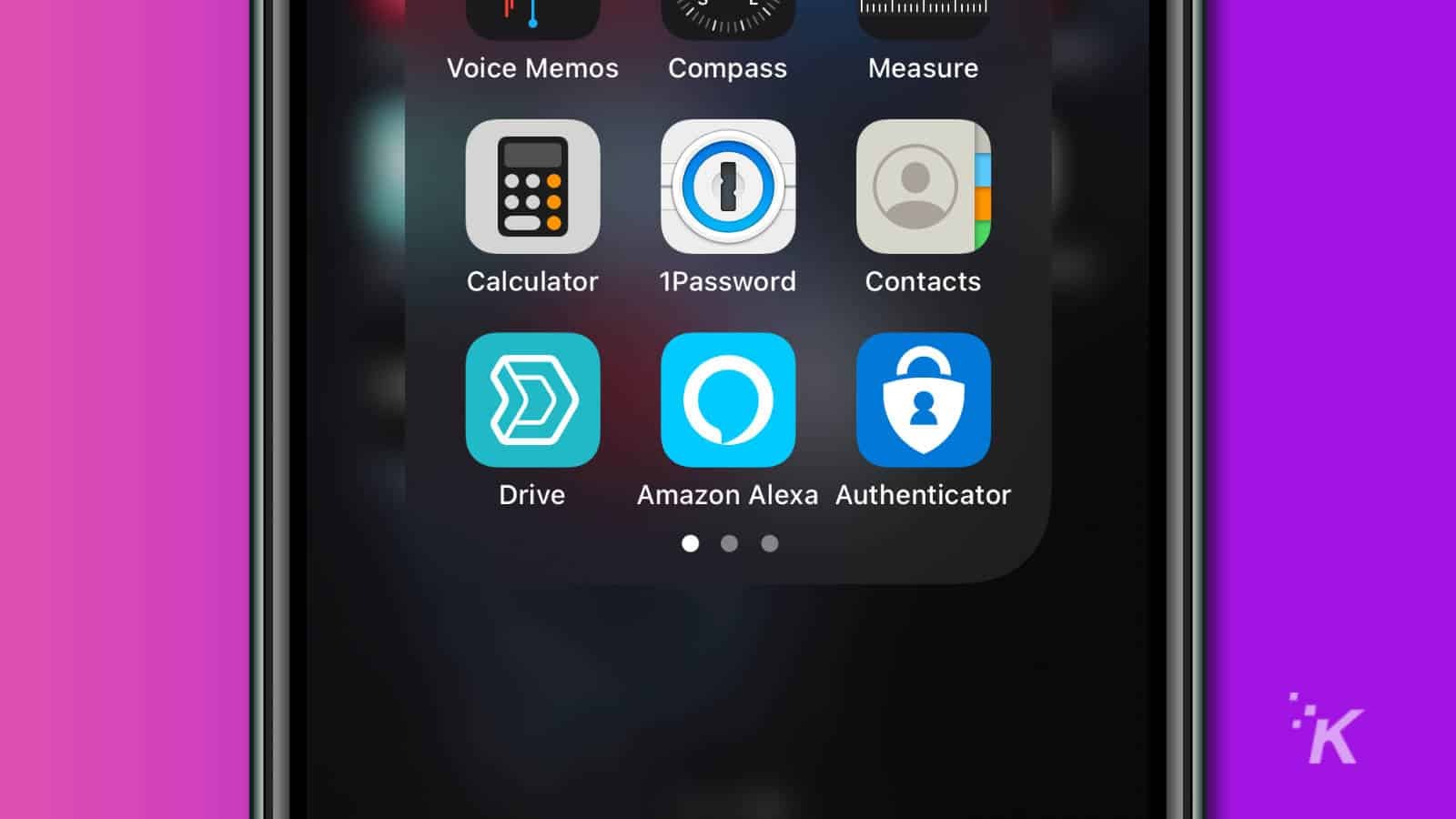iphone home screen showing alexa app icon