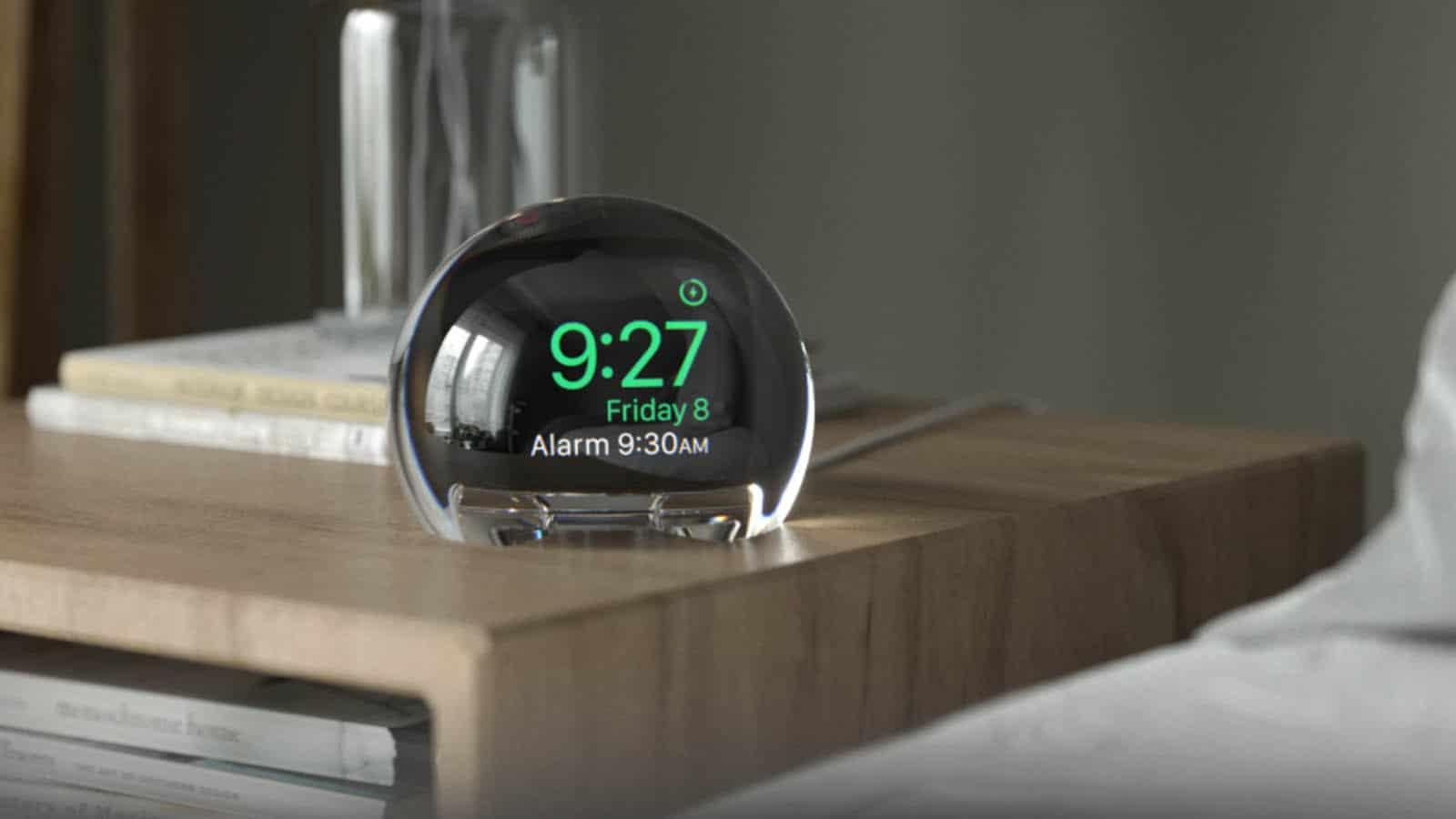 apple watch alarm globe