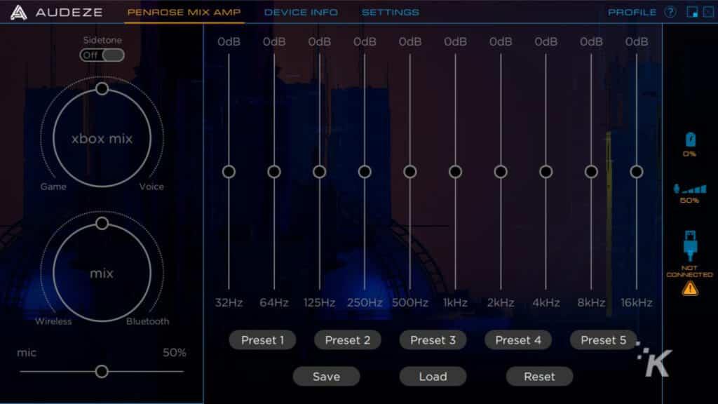 audeze penrose headphones software