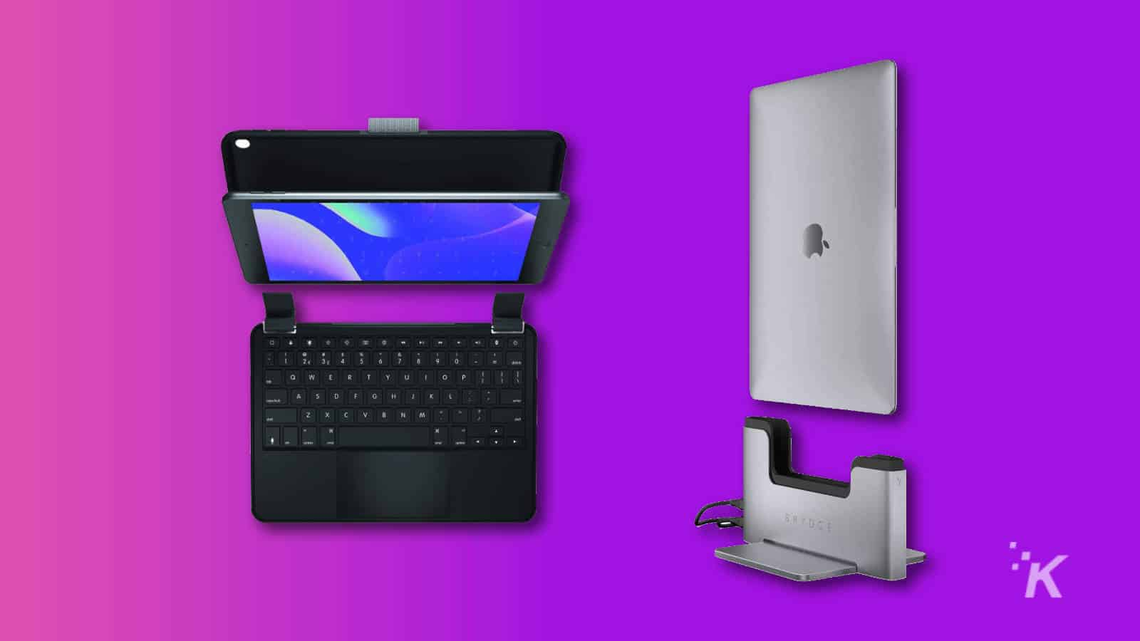 brydge dock for macbook and ipad keyboard