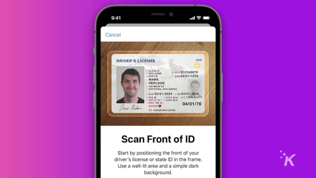 digital id support on apple wallet