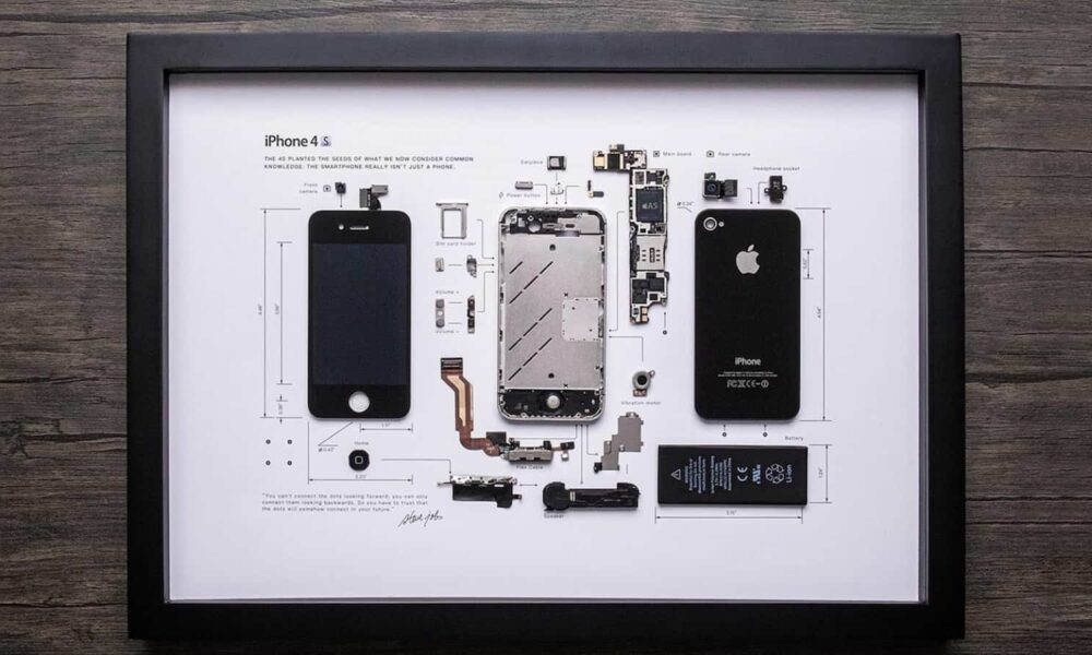 This company buys older iPhones and transforms them into works of art