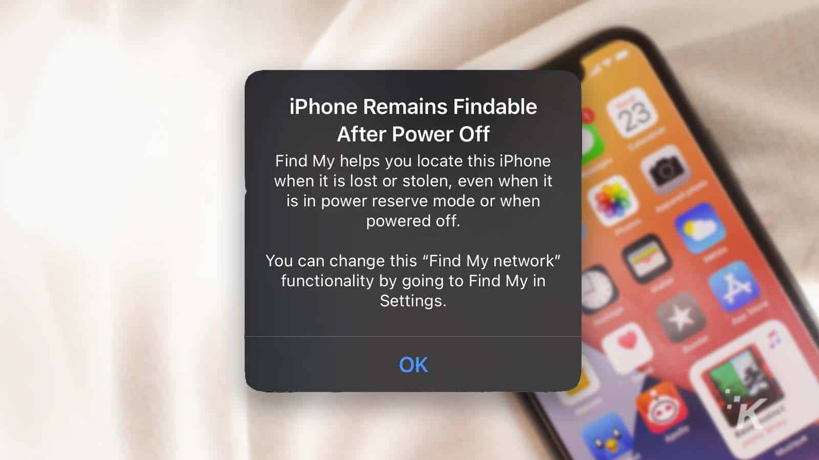 iphone find my ios 15