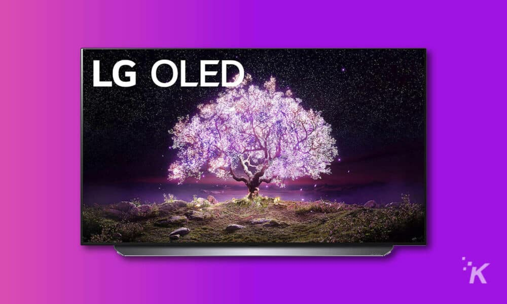 The 55-inch LG OLED C1 (2021) is on sale for only $1,500