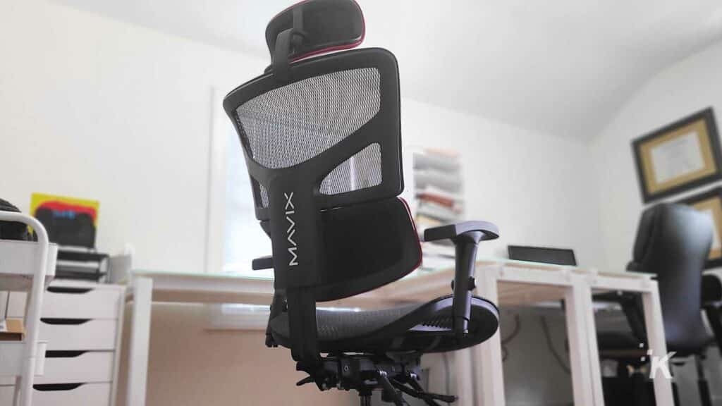 gaming chair back