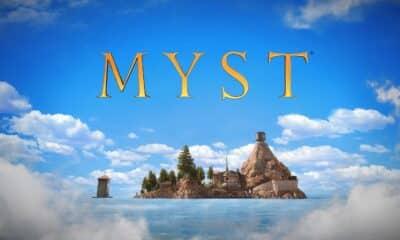 myst vr game home screen