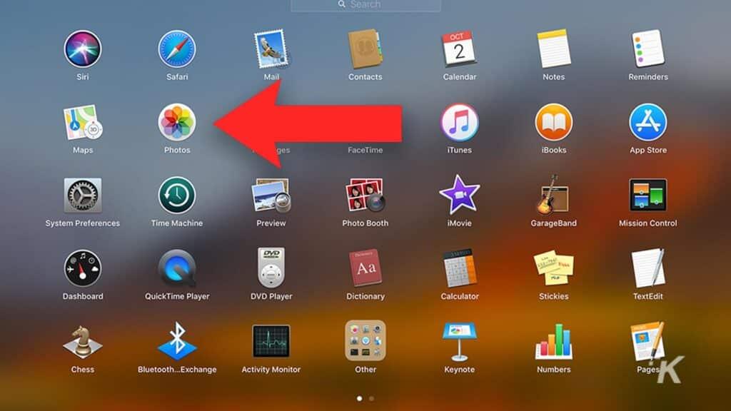 photos app on mac