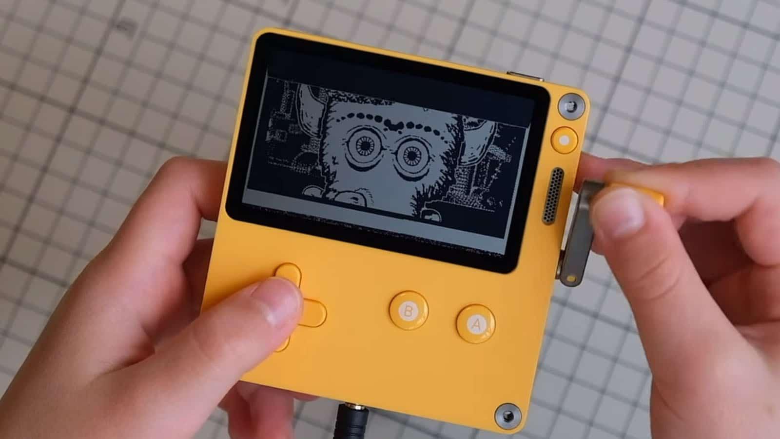 playdate handheld console