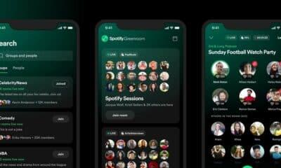 spotify greenroom audio app
