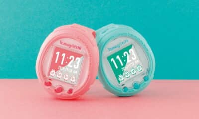 new tamagotchi smartwatch pink and teal