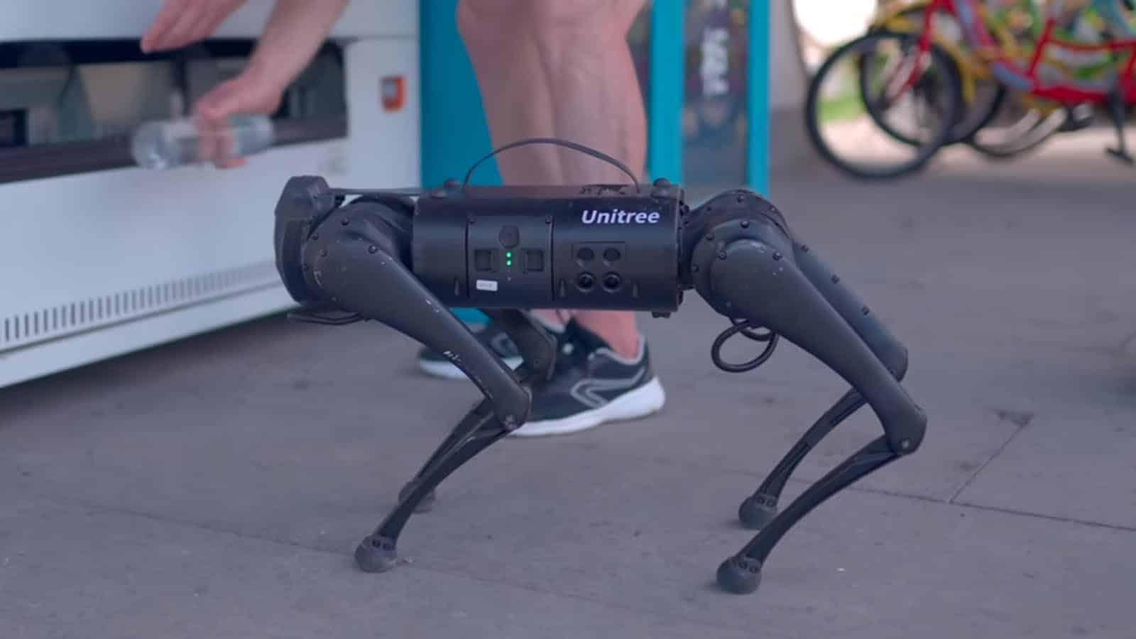 unitree robotic dog
