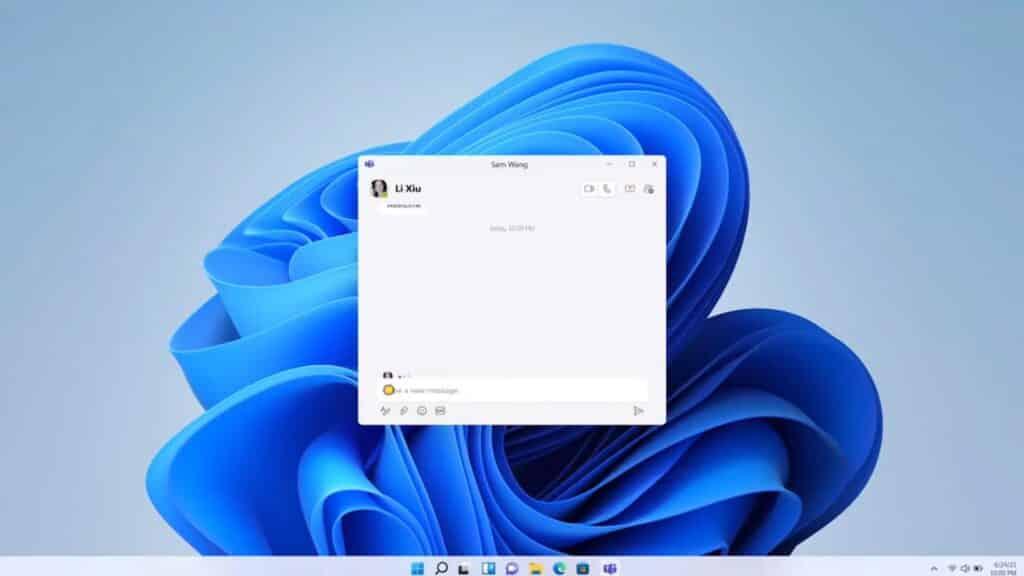 windows 11 homescreen