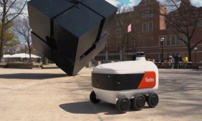 grubhub yandex delivery robot