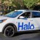halo self-driving ridesharing car