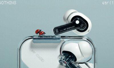 nothing ear (1) headphones with copulating ladybirds
