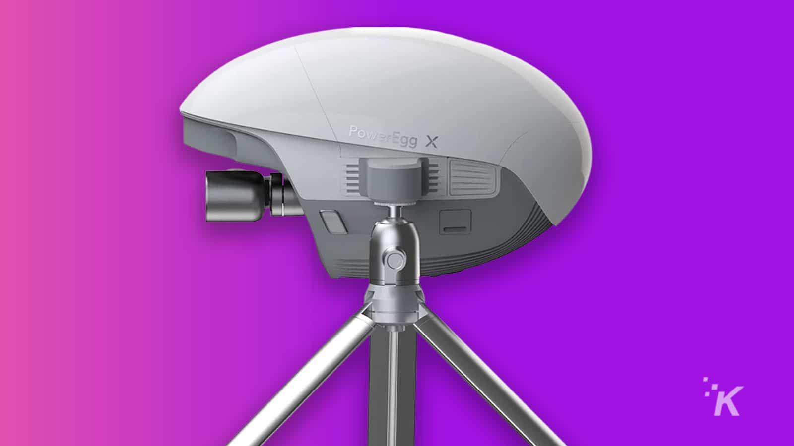poweregg x drone and webcam