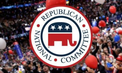 rnc logo with blurred background
