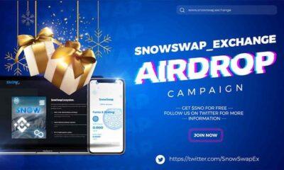 snowswap exchange airdrop