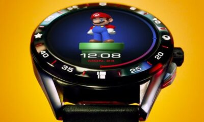 super mario smartwatch from tag heuer