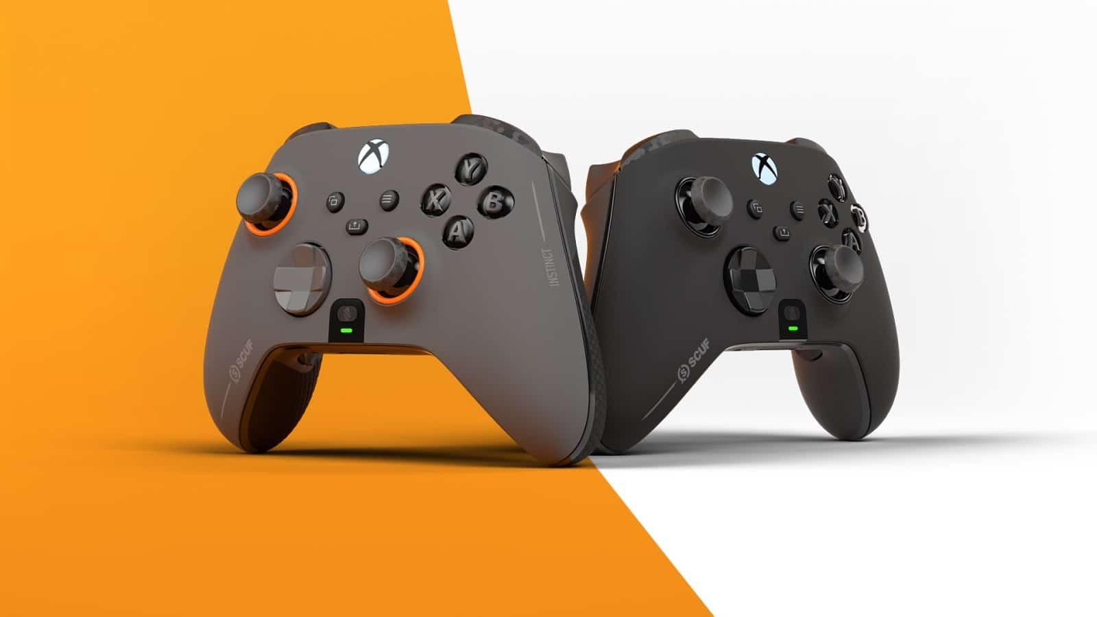 scuf instinct and instinct pro custom xbox series x controllers