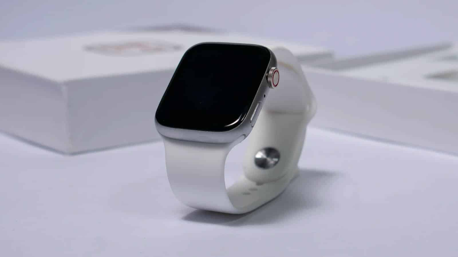 apple watch on table