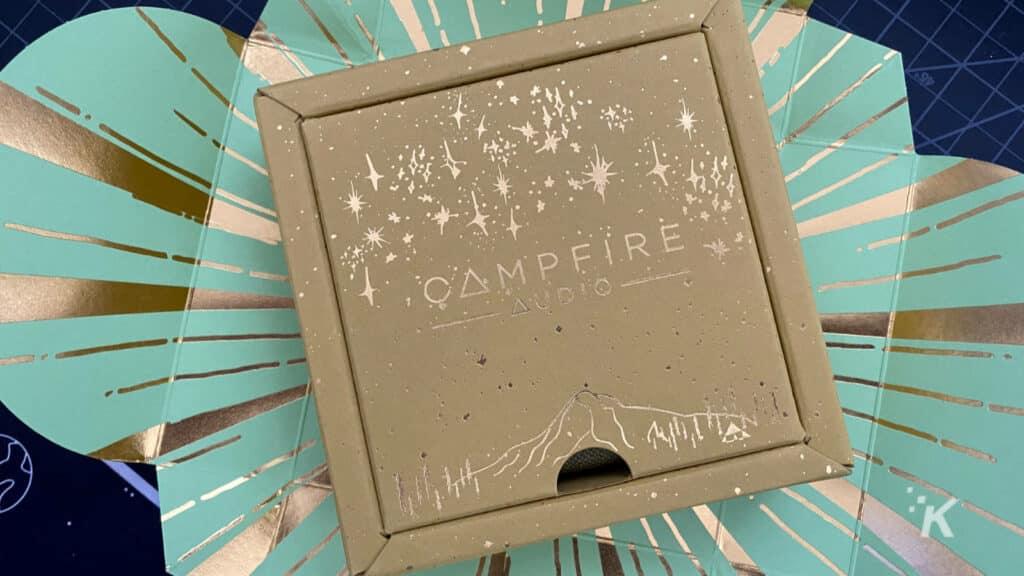 campfire audio satsuma iems packaging