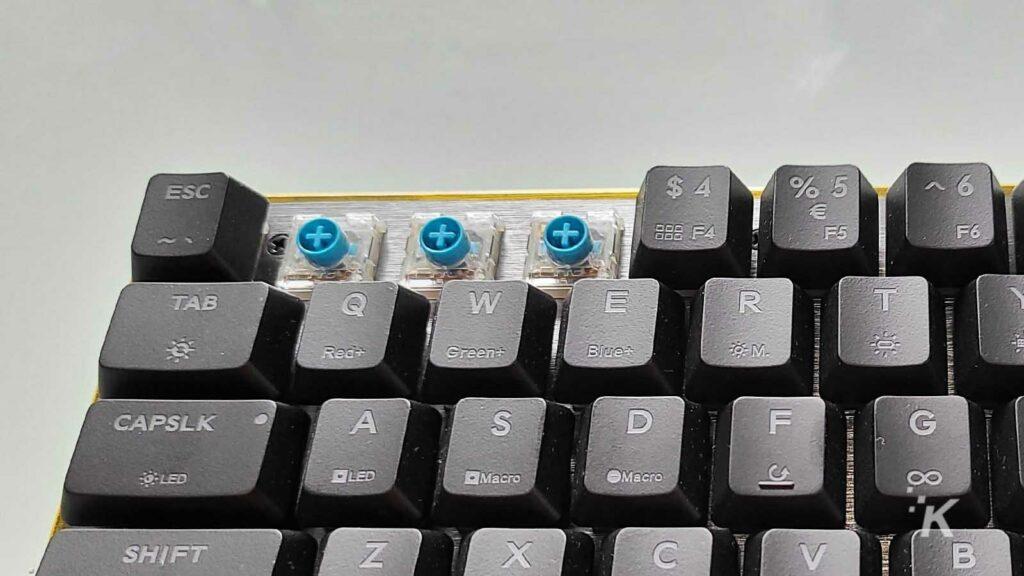 cooler master gaming keyboard