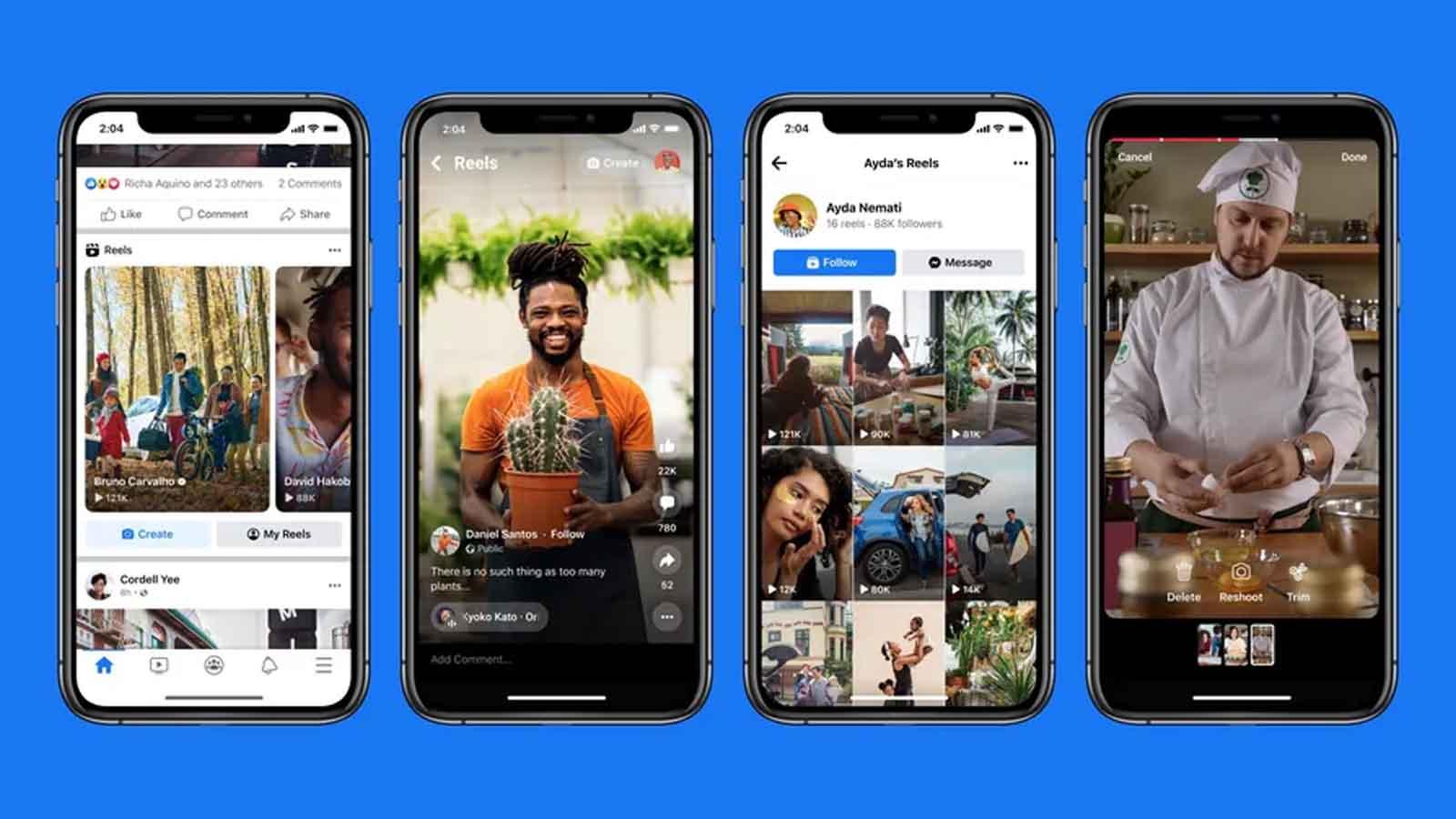 facebook reels on phone