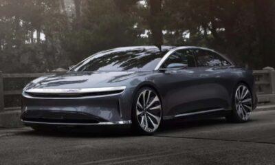 lucid motors air sedan electric car