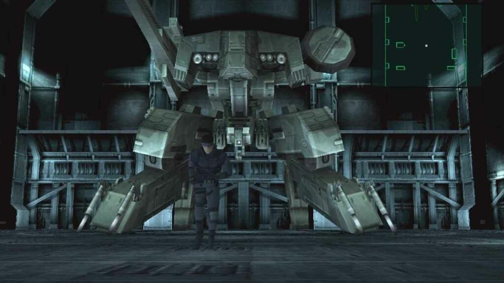 mgs gameplay ps1