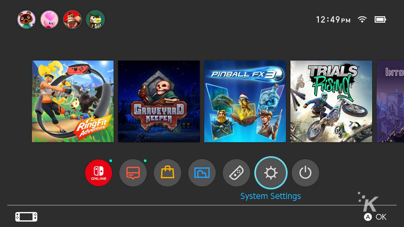 how to add a new user on nintendo switch