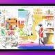 apple ipad 2021 on purple background