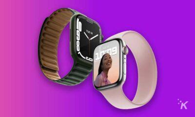 apple watch series 7 both sizes