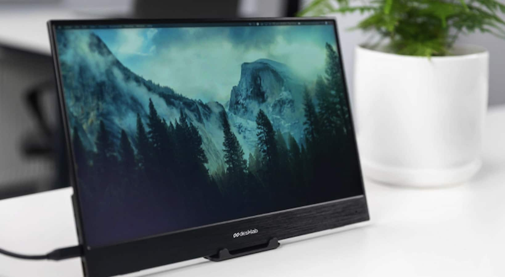 dlab 4k touchscreen monitor