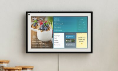 echo show 15 mounted on a wall