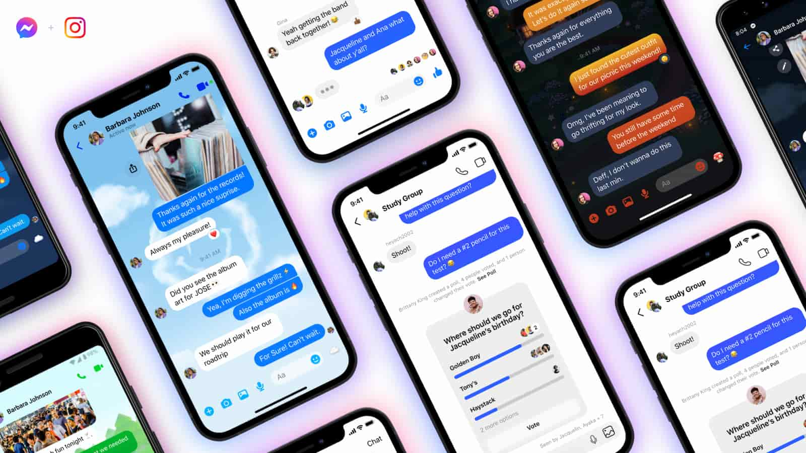 facebook instagram messenger group chats