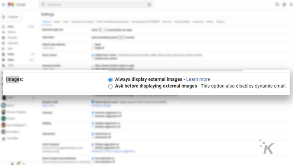 gmail image filter