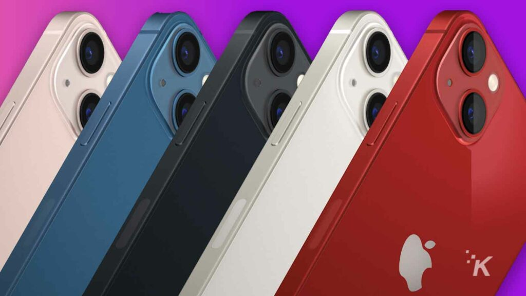 iphone 13 in all colors