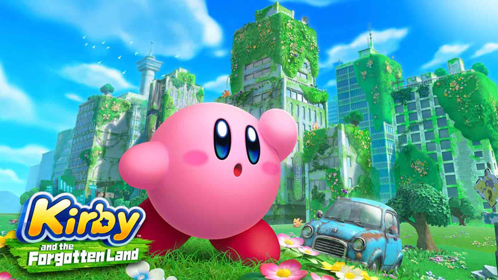 kirby and the forgotten land nintendo switch