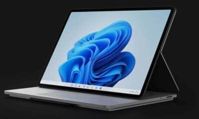 microsoft surface laptop studio folded