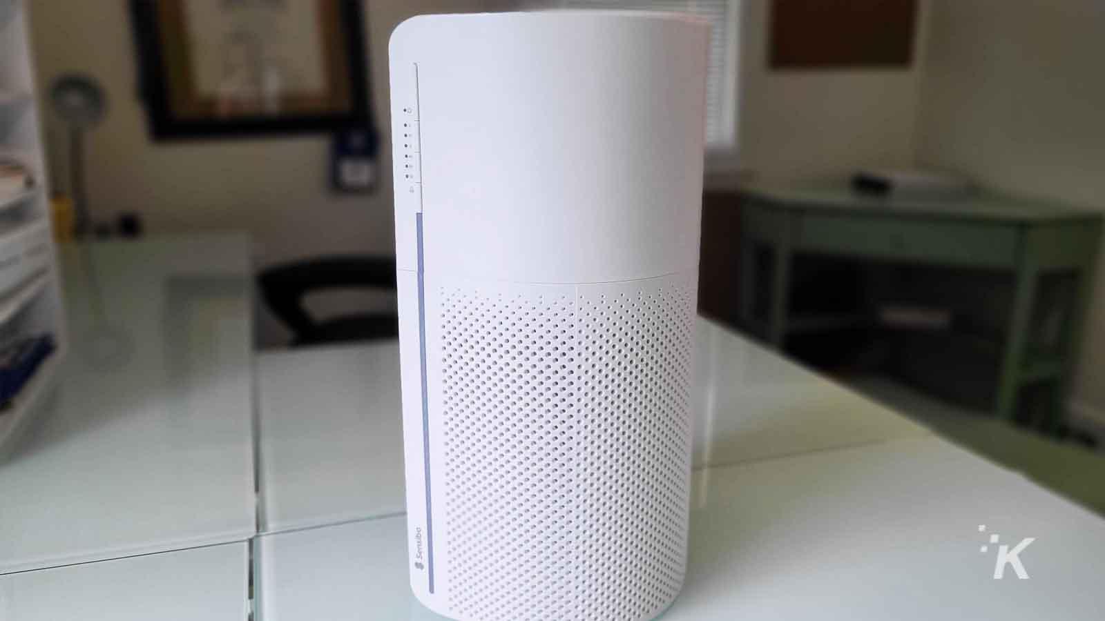 sensibo air purifier on table