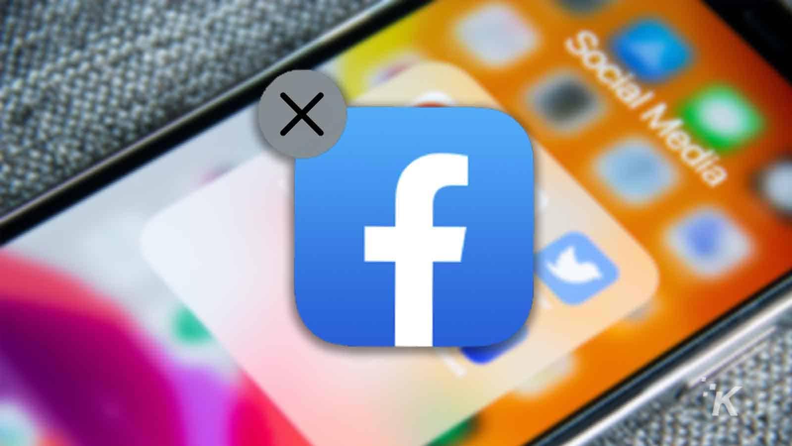 facebook iphone icon