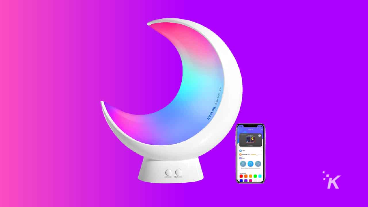 ecolor smart table lamp