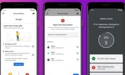 personal safety app on google pixel