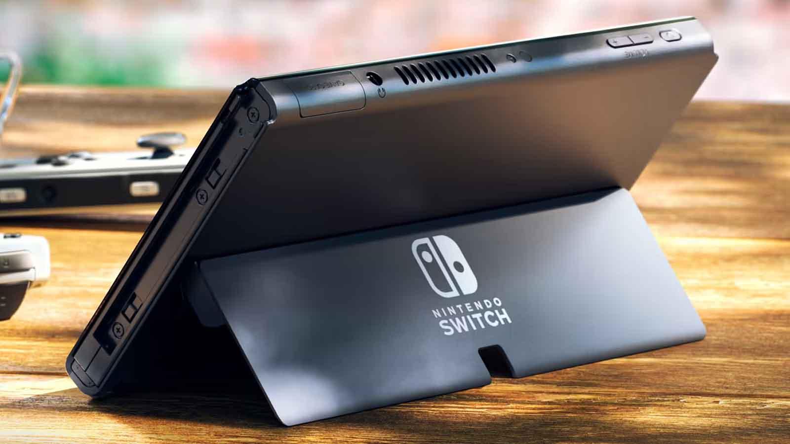 nintendo switch oled sd card