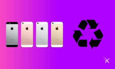recycle old smartphones
