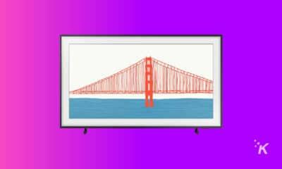 samsung frame tv product shot