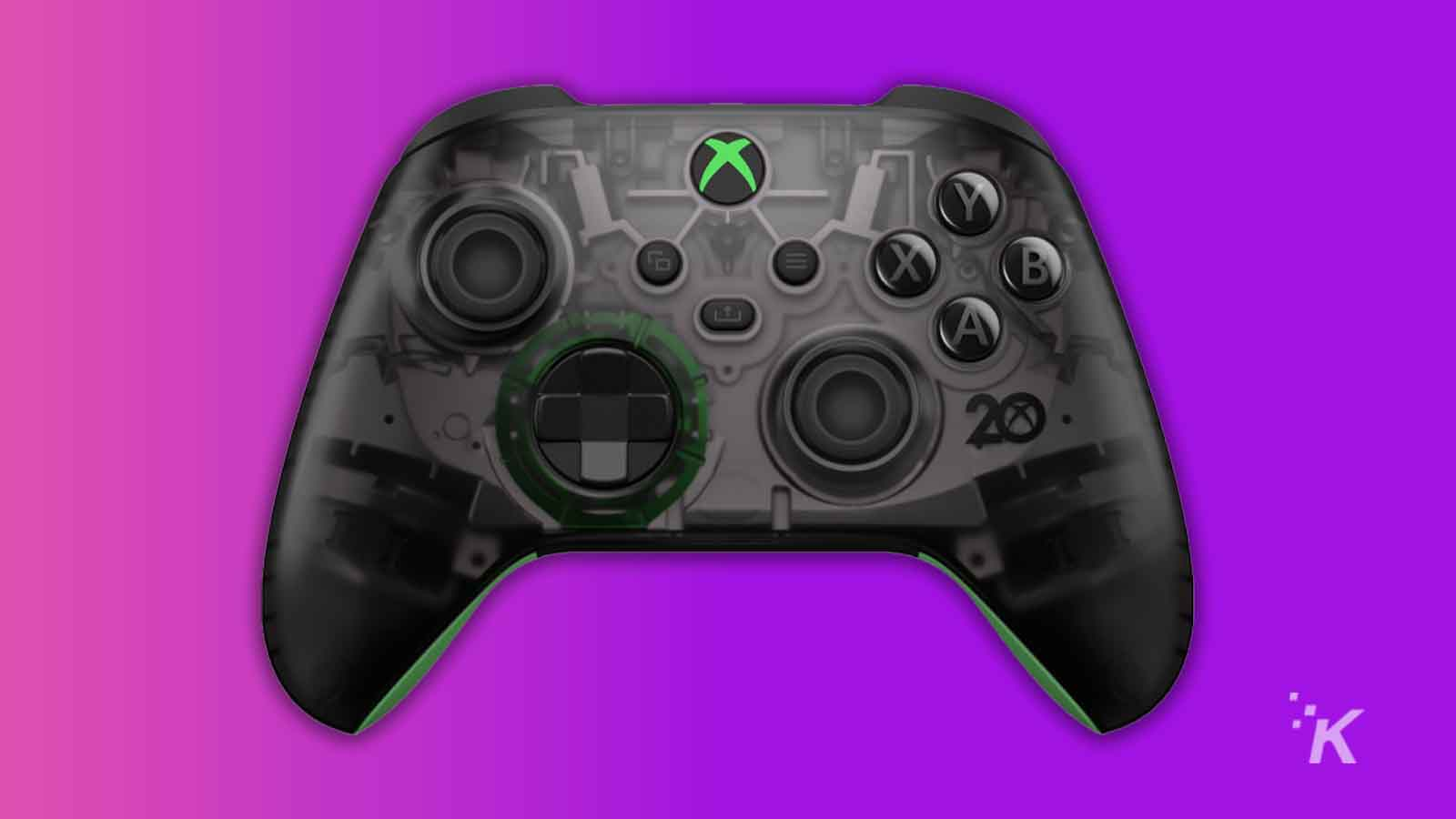 xbox controller for 20th anniversay